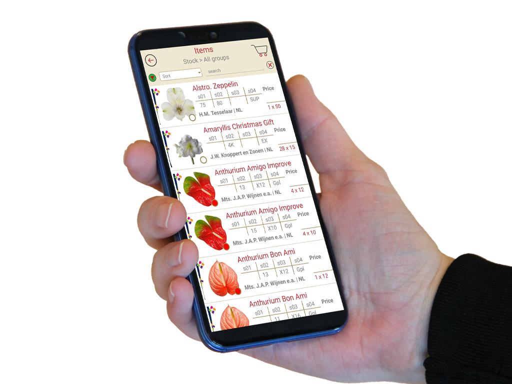 Hilverda De Boer webshop app